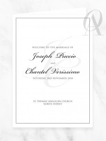 CBDP03 JOSEPH & CHANTEL CHURCH BOOK COVER DIGITAL PRINT