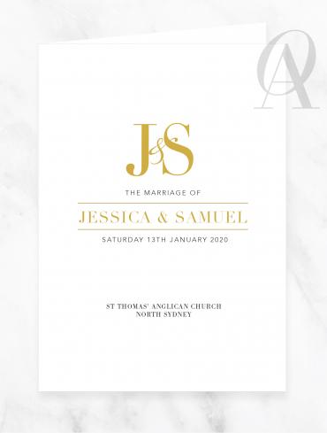 CBDP04 JESSICA & SAMUEL CHURCH BOOK COVER DIGITAL PRINT