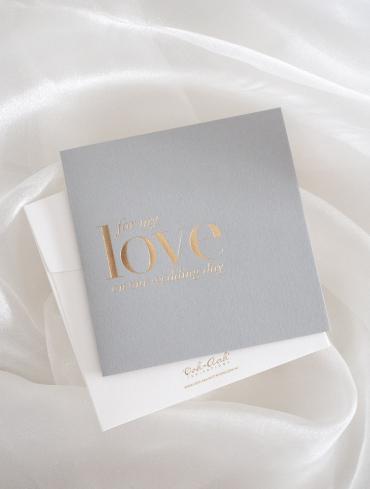 LOVE CARD – GREY